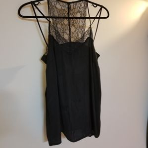 Lace Detailed Camisole with Flowy Straps